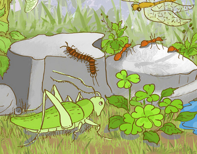 Storyweaver Spotathon Entry - Creepies and Crawlies