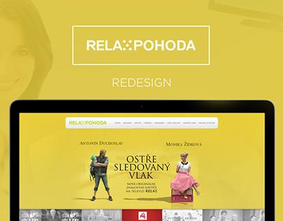 TV Relax Pohoda - Website Redesign