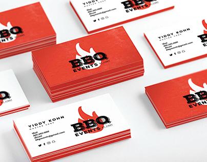 BBQ Events Logo Identity