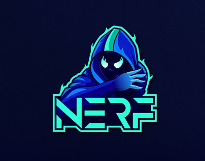 Nerf- Gaming Logo Design