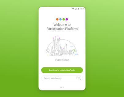 UI design for search screens - mobile app