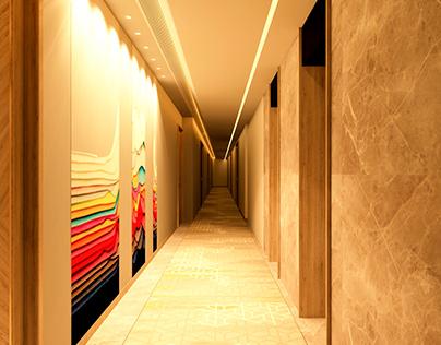 Hotel citrus Corridor