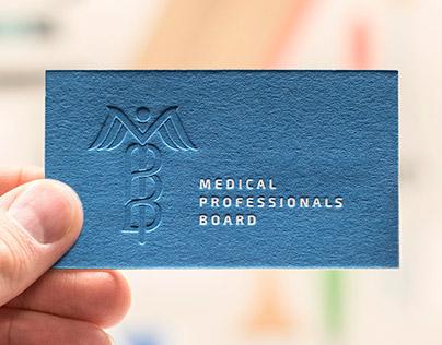 Medical Professionals Board Letterpress Business Cards