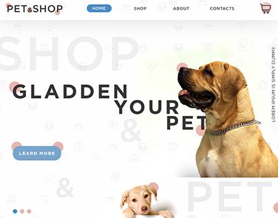 Pet&Shop - Pamper your pet)
