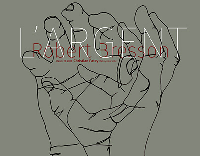 Movie Poster | l'Argent by Robert Bresson