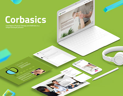Corebasics Physical Therapy Branding