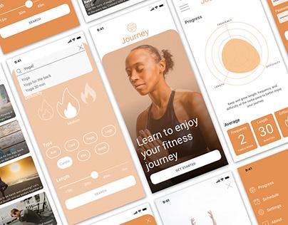 Journey Fitness App