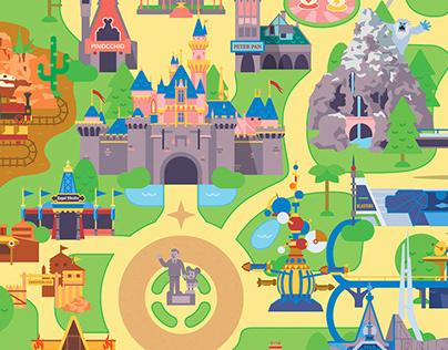 Play Disney Parks Illustrations