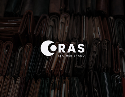 Leather logo . Emboss logo . Oras logo