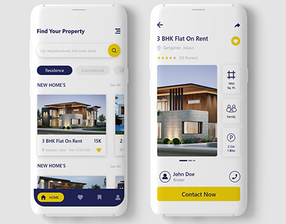 Property App UI Work