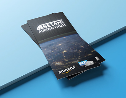 Marketing material for AWS conference