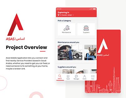 Asas Mobile Application