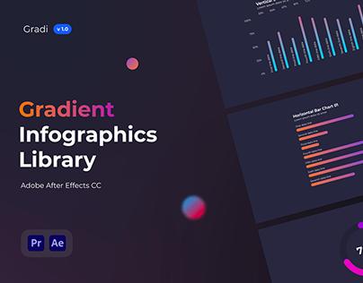 Gradi - Gradient Infographics Template