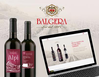 Brand Identity, Web Design, Develop - Balgera Vini