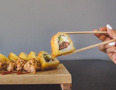 Sushi (Fotografia para menu y redes sociales)