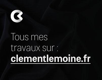 Tous mes travaux sur clementlemoine.fr