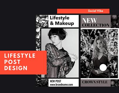 Social Media story design