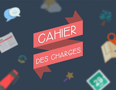 Cahier des charges - Infographie
