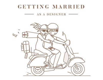 Getting married as a designer
