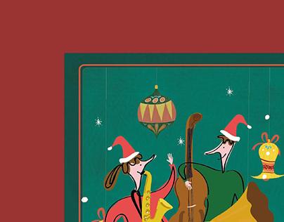活動海報設計_Concert Poster Design_聲根《聖誕音樂盒》沙龍音樂會