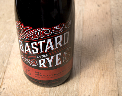 Bastard in the Rye Beer Label