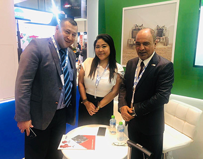 Camtech ADIPEC Expo with Dhananjay Choudhary