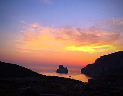 Masua beach - Sardinia Island (Italy)  photo by iPhone6