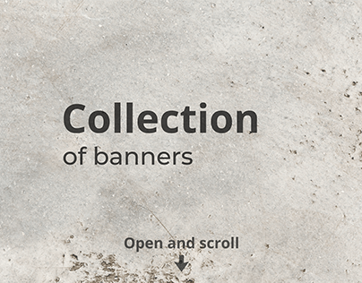 Collection of banners