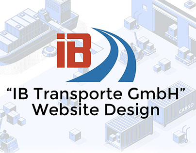 "Website Design ""IB-Transporte GmbH"""