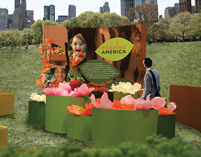 FEEDING AMERICA (Exhibition Design)