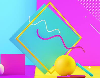 Color-Geometric
