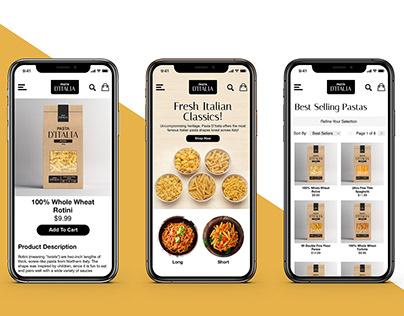 Pasta D'Italia Branding Project