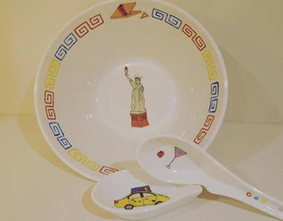 My Name is Jijamore Plates | My Name is Jijamoreの食器