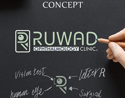 proposed logo for ruwad clinic