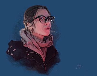 Portrait of Yana