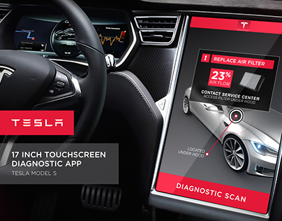 Tesla Diagnostic App - Animated Concepts