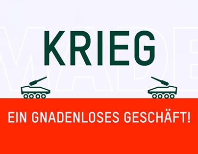 Krieg - grausam aber auch lukrativ _ Made in Germany