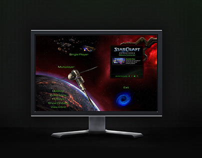 Starcraft Remastered - Game UI