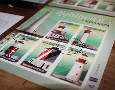 SOUTH AFRICAN LIGHTHOUSES - Postage stamps