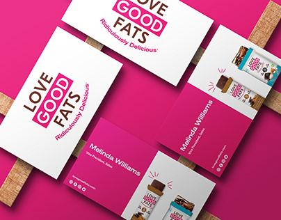 Love Good Fats Rebranding