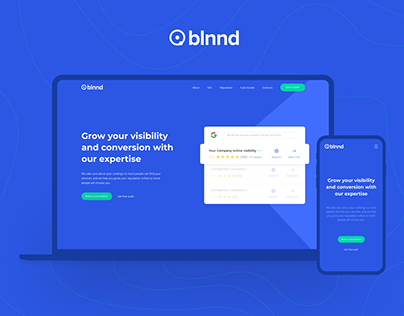 BLNND • SEO • REPUTATION • WEB • IDENTITY • UI • UX