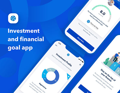 Plano de Vida Investment Mobile App UI UX