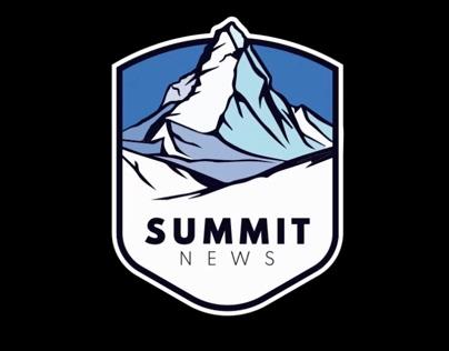 Logo animation for Summit News
