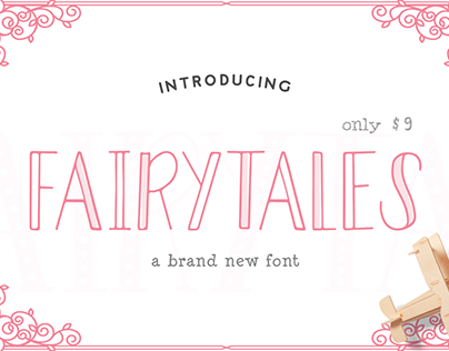 FREE Fairytales Font