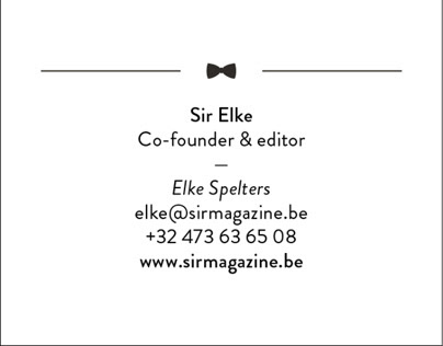 Sir Magazine