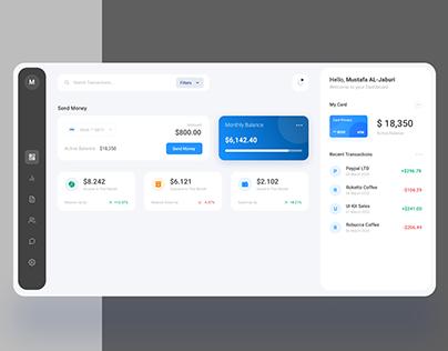 UI daily challenge - Finance dashboard