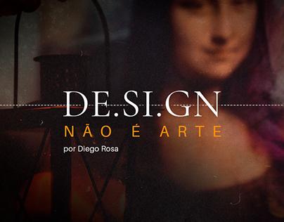 Design não é arte - carrossel post
