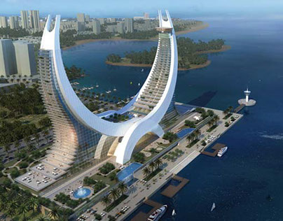 Katara hotel in doha qatar on behance for Design hotel qatar