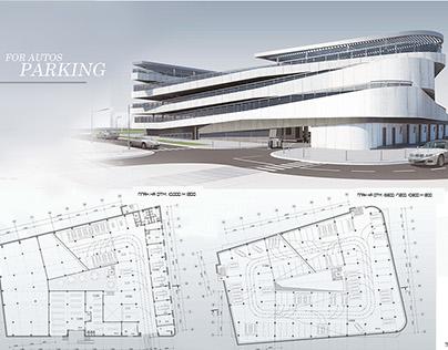 Modern Parking Garage