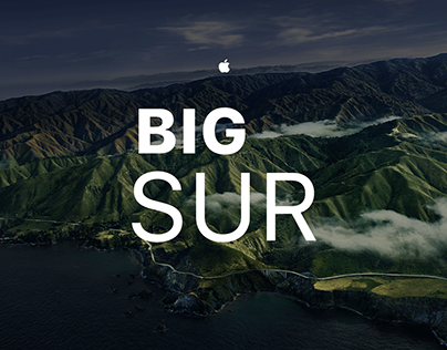  MacOS Big Sur Dark Wallpaper